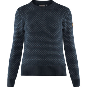 Fjällräven Övik Nordic Sweater Women dark navy